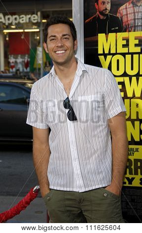 HOLLYWOOD, CALIFORNIA - June 30, 2011. Zachary Levi at the Los Angeles premiere of