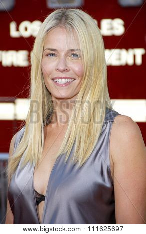 HOLLYWOOD, CALIFORNIA - June 30, 2011. Chelsea Handler at the Los Angeles premiere of