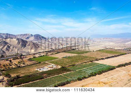 Nazca, Peru Landscape
