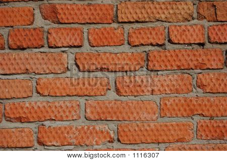 Imprinted Red Brick