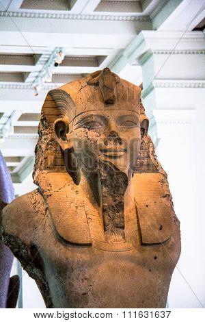Seated Statue Of Amenhotep III