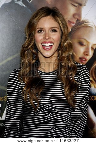 HOLLYWOOD, CALIFORNIA - February 1, 2010. Kayla Ewell at the World premiere of