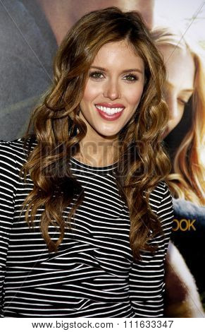 Kayla Ewell at the World Premiere of
