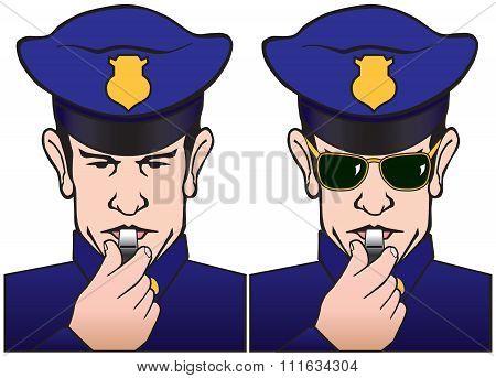 Whistling Policeman