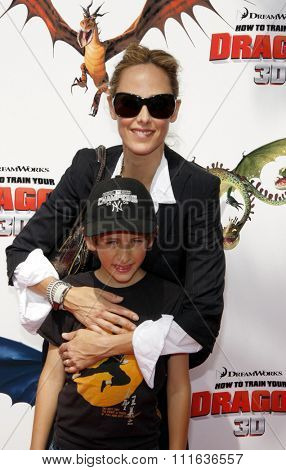 UNIVERSAL CITY, CALIFORNIA - March 21, 2010. Kim Raver at the Los Angeles premiere of