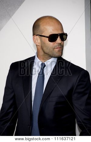 Jason Statham at the Los Angeles premiere of