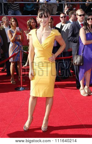 Karina Smirnoff at the 2012 ESPY Awards held at the Nokia Theatre L.A. Live in Los Angeles, USA on July 11, 2012.