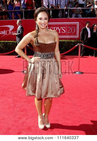 Cheryl Burke at the 2012 ESPY Awards held at the Nokia Theatre L.A. Live in Los Angeles, USA on July 11, 2012.