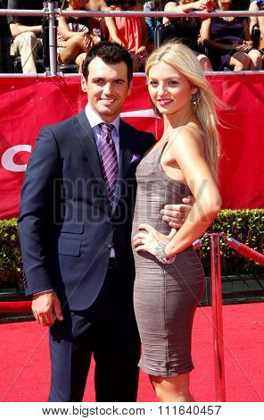 Tony Dovolani at the 2012 ESPY Awards held at the Nokia Theatre L.A. Live in Los Angeles, USA on July 11, 2012.