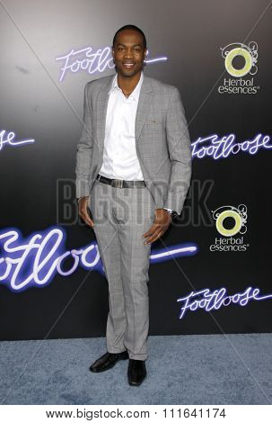 WESTWOOD, CALIFORNIA - October 3, 2011. Ser'Darius Blain at the Los Angeles premiere of