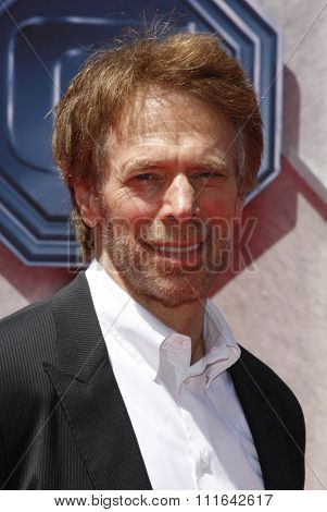 HOLLYWOOD, CALIFORNIA - July 19, 2009. Jerry Bruckheimer at the Disney World Premiere of