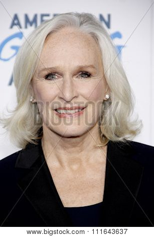 Glenn Close at the 2nd Annual American Giving Awards held at the Pasadena Civic Auditorium in Los Angeles, California, United States on December 7, 2012.