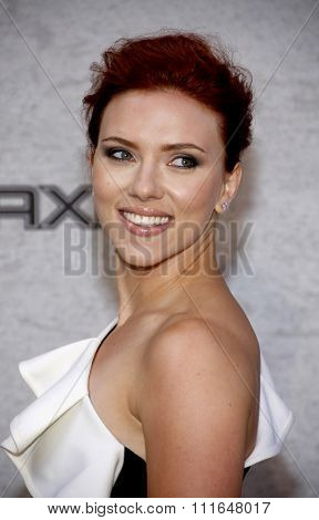Scarlett Johansson at the Spike TV's 5th Annual 2011