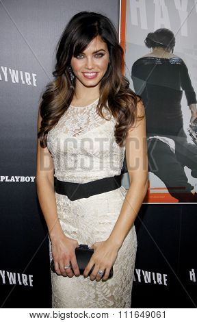 HOLLYWOOD, CALIFORNIA - January 5, 2012. Jenna Dewan at the Los Angeles premiere of
