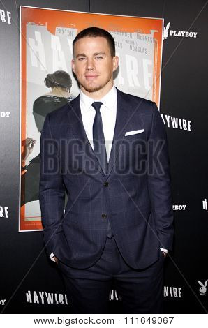 HOLLYWOOD, CALIFORNIA - January 5, 2012. Channing Tatum at the Los Angeles premiere of