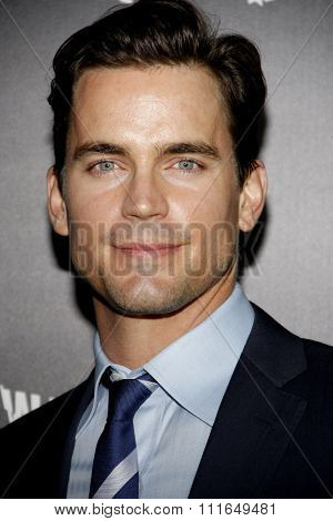 Matt Bomer at the Los Angeles Premiere of