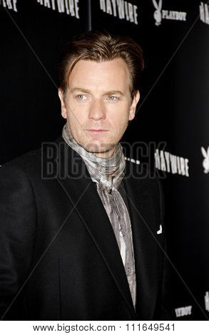 Ewan McGregor at the Los Angeles Premiere of