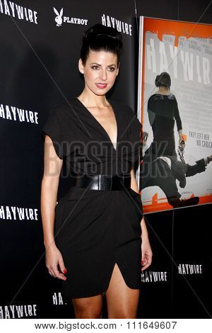 Natascha Berg at the Los Angeles Premiere of