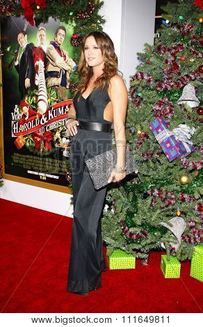 LOS ANGELES, USA - Danneel Harris at the Los Angeles Premiere of