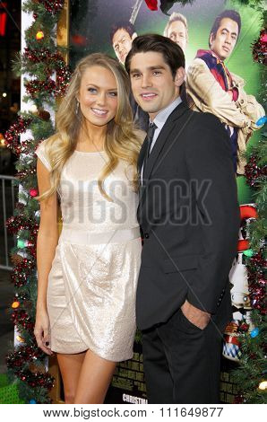 HOLLYWOOD, CALIFORNIA - November 2, 2011. Melissa Ordway at the Los Angeles premiere of