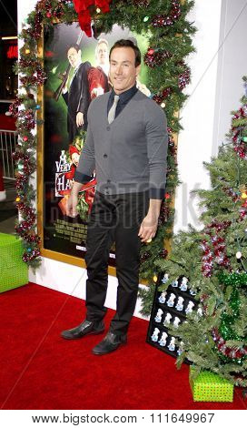 HOLLYWOOD, CALIFORNIA - November 2, 2011. Chris Klein at the Los Angeles premiere of