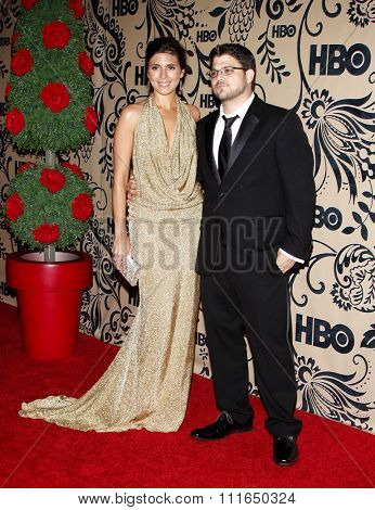 20/09/2009 - West Hollywood - Jamie-Lynn Sigler and Jerry Ferrara at the HBO POST EMMY Party held at the Pacific Design Center in Hollywood, California, United States.