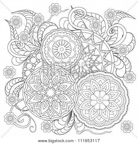 Floral Mandalas