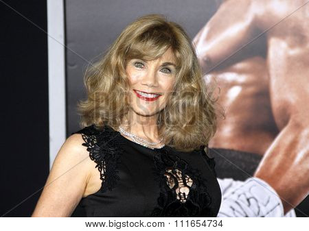 Barbi Benton at the Los Angeles premiere of 'Creed' held at the Regency Village Theatre in Westwood, USA on November 19, 2015.
