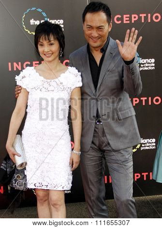 HOLLYWOOD, CALIFORNIA - July 13, 2010. Ken Watanabe at the Los Angeles premiere of