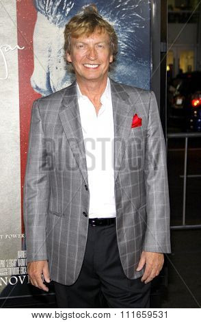 HOLLYWOOD, CALIFORNIA - November 3, 2011. Nigel Lythgow at the AFI Fest 2011 Opening Night Gala World Premiere Of