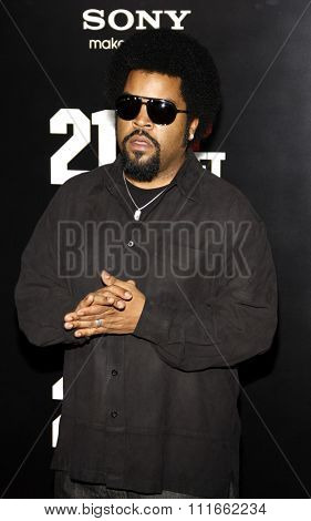 HOLLYWOOD, CALIFORNIA - March 13, 2012. Ice Cube at the Los Angeles premiere of
