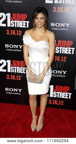 HOLLYWOOD, CALIFORNIA - March 13, 2012. Jenna Dewan at the Los Angeles premiere of