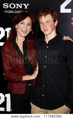 HOLLYWOOD, CALIFORNIA - March 13, 2012. Marilu Henner at the Los Angeles premiere of