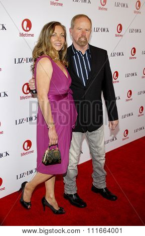 LOS ANGELES, CALIFORNIA - November 20, 2012. Theresa Russell at the Los Angeles premiere of 'Liz & Dick' held at the Beverly Hills Hotel in Los Angeles.