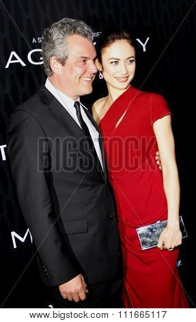 Danny Huston and Olga Kurylenko at the Los Angeles Premiere of Starz Series