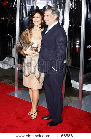 Leslie Moonves and Julie Chen at the Los Angeles Premiere of