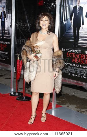Julie Chen at the Los Angeles Premiere of