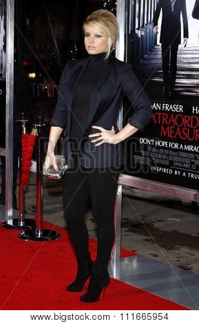 Jessica Simpson at the Los Angeles Premiere of