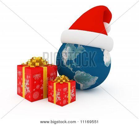 Worldwide Merry Christmas celebration