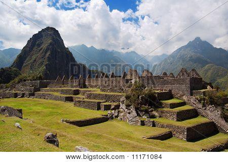 Wayna Picchu And Three Doorway Group Of Ruins