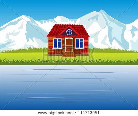 Lodge in mountain high