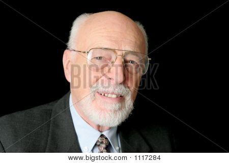 Stock Photo Of Friendly Senior Man