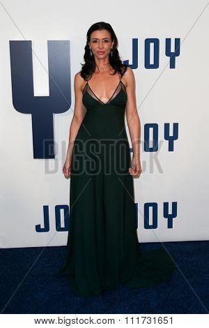 NEW YORK-DEC 13: Actress Drena De Niro attends the