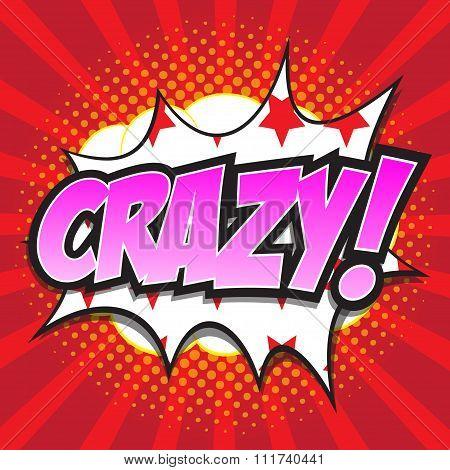 CRAZY! wording sound effect