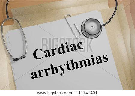 Cardiac Arrhythmias Concept