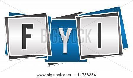 FYI Blue Grey Block
