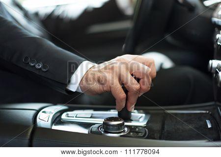 Business man car businessman seat belt steering wheel passenger compartment