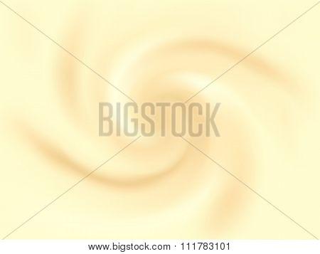 Vanilla Cream Abstract Vector Texture