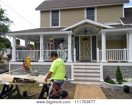 Remodeling a Harbor Springs Home
