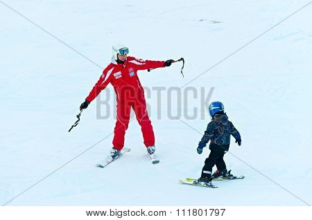 Ski Lesson For Children